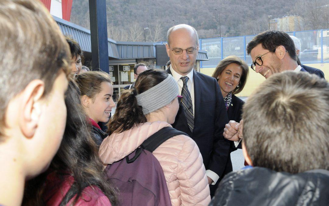 17 Février 2020 : M. Michel Blanquer au lycée Comte de Foix