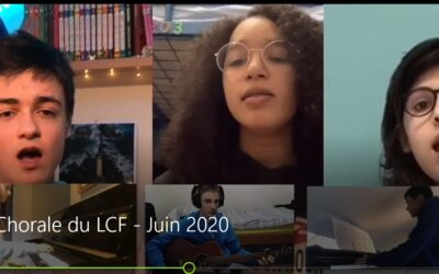 La chorale du LCF (Vidéo)