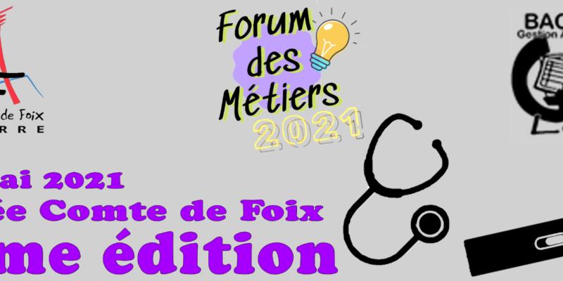 Forum des métiers 2021